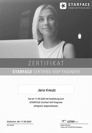 STARFACE Certified VoIP Engineer (08/2020)