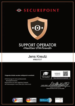 SUPPORT OPERATOR (01/2021)